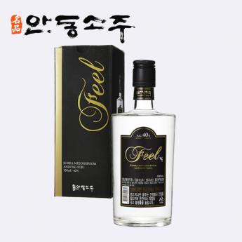 명품 안동소주 선물용 40도 고급 위스키 FEEL  500ml